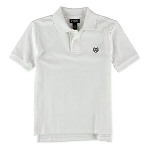 Chaps Boys Solid Rugby Polo Shirt